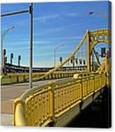 Pittsburgh - Roberto Clemente Bridge Canvas Print