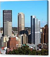 Pittsburgh Skyline Canvas Print