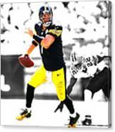 Pittsburgh Steelers Ben Roethlisberger Canvas Print
