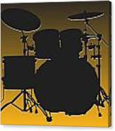 Pittsburgh Steelers Drum Set Canvas Print