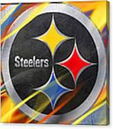 Pittsburgh Steelers Football Canvas Print