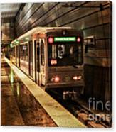 Pittsburgh Subway Canvas Print