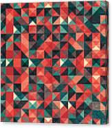 Pixel Art Poster Canvas Print