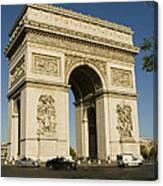 Place Charles De Gaulle Canvas Print