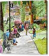 Place Dauphine Canvas Print