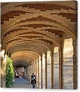 Place Des Vosges Walkway Canvas Print
