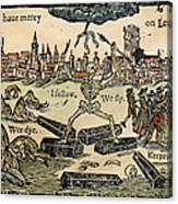 Plague Of London, 1665 Canvas Print