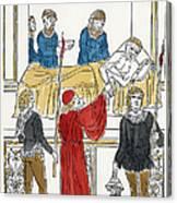Plague Patient, 1500 Canvas Print