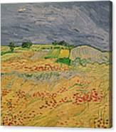 Plain At Auvers Canvas Print