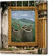 Plain Of Jars Canvas Print