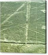 Plains Of Nazca - Spider Canvas Print