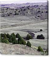 Plains Of Nebraska Canvas Print