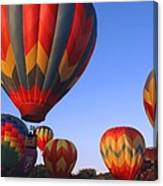 Plainville Hot Air Balloon Fesitval Canvas Print