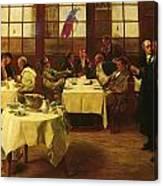 Plaitiff And Defendant Canvas Print