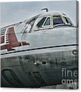 Plane Capital Airlines Canvas Print