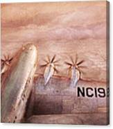 Plane - Pilot - Tropical Getaway Canvas Print