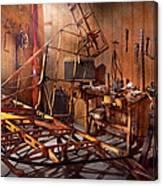 Plane - The Dawn Of Aviation Canvas Print