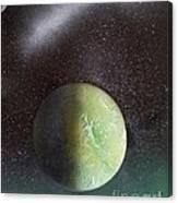 Planet Au Vert Canvas Print