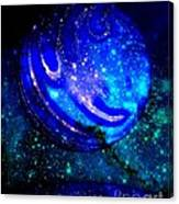 Planet Disector Reflected Canvas Print