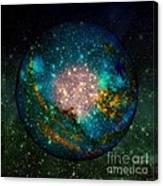 Planet Disector Shadows Canvas Print