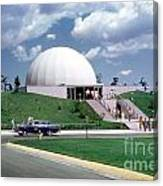 U.s. Air Force Academy Planetarium At Colorado Springs 1961 Canvas Print