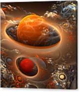 Planetary Plasmas Canvas Print