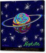 Planets 7 8 9 - Science Canvas Print