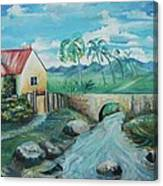 Plantation 1 Canvas Print