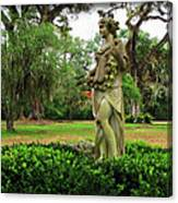 Plantation Garden New Orleans  Canvas Print