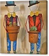 Planter Buddies Canvas Print