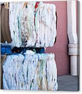 Plastic Bags To Be Recycled Canvas Print