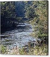 Plate River No 2 Canvas Print