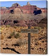 Plateau Point Grand Canyon Canvas Print
