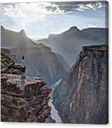 Plateau Point - Grand Canyon Canvas Print
