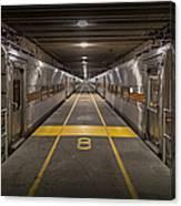 Platform Eight At Union Station Canvas Print
