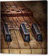 Play Me An Old Hymn Canvas Print