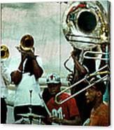 Play That Trumpet Canvas Print