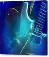 Play Them Blues Canvas Print