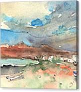 Playa Honda In Lanzarote 01 Canvas Print