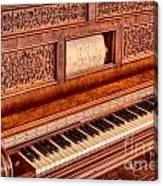 Piano Keys In The Key Of Life Canvas Print