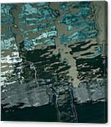 Playful Abstract Reflections Canvas Print