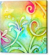 Playful Fancy Canvas Print