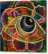 Playful Spirit Eye Canvas Print