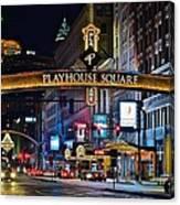 Playhouse Square Canvas Print