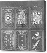 Playing Cards Canvas Print