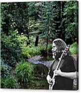 Playing For The Creek 3 Canvas Print