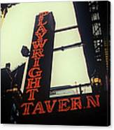 Playwright Tavern Canvas Print