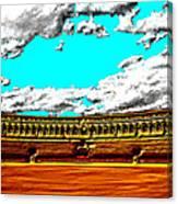 Plaza De Toros Canvas Print