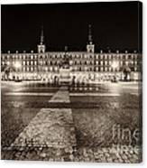 Plaza Mayor After Midnight Canvas Print
