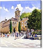 Plaza Nueva Canvas Print